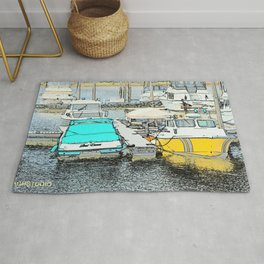 The Boat Dance Rug
