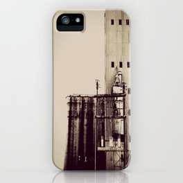 warehouse blues iPhone Case