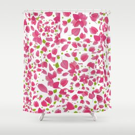 Begonvil  Shower Curtain