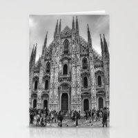milan Stationery Cards featuring Milan Duomo by Cristina Serrano