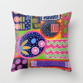 Obsession Throw Pillow