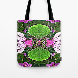 Lily Lily on the Wall Tote Bag