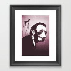 SalvaDog Dalí Framed Art Print