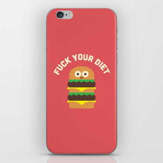Discounting Calories iPhone & iPod Skin