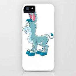 Fun Cartoon Donkey iPhone Case