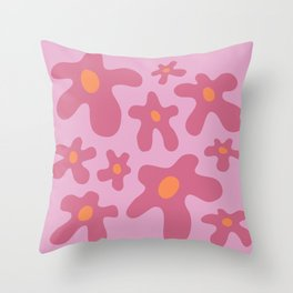 Wildflower Dance Throw Pillow
