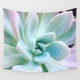 Soft Succulent Wall Tapestry