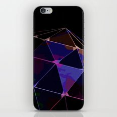 BLACKLIGHT CRYSTAL BALL iPhone & iPod Skin