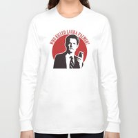 laura palmer Long Sleeve T-shirts featuring Who killed Laura Palmer twin peaks by Buby87