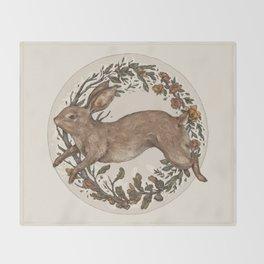 Rabbit Throw Blanket