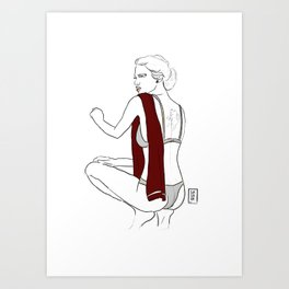 Torino | Serie A pin up Art Print