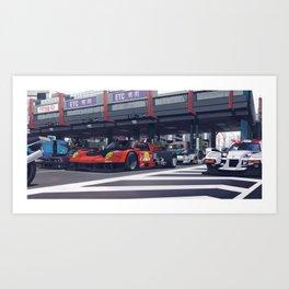 Kaneda's Crew Art Print
