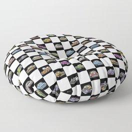 Crazy Car Art 0158 Floor Pillow