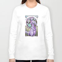mucha Long Sleeve T-shirts featuring Mucha Goodra by daftmue