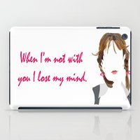 britney spears iPad Cases featuring Britney by Bethany Mallick