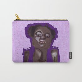 Purple Girl Carry-All Pouch