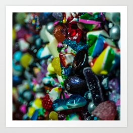 Candy Two Art Print