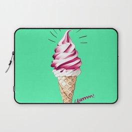 Yummy Ice Cream | Digital Art Laptop Sleeve