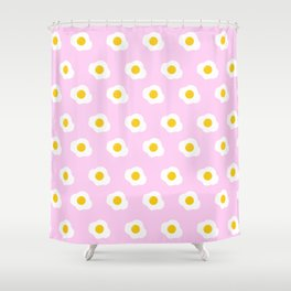 Easter Eggs (pink) Shower Curtain
