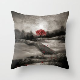 The red sounds and poems, Chapter I Throw Pillow