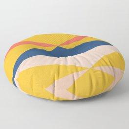 Minimal Southwestern Summer Floor Pillow