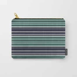 Horizontal stripe. Carry-All Pouch