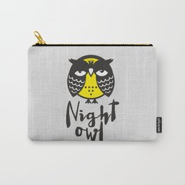 Night owl Carry-All Pouch