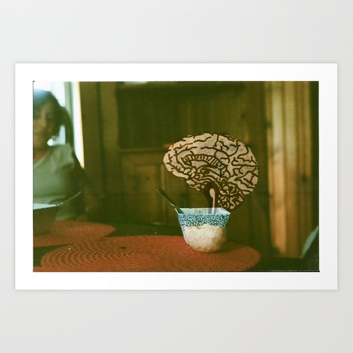 Food For Thought Art Print