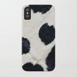 Cow Skin iPhone Case