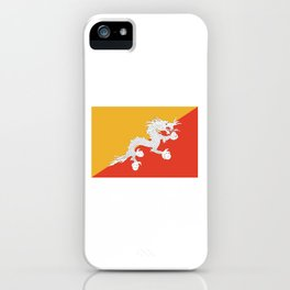 Bhuan flag iPhone Case
