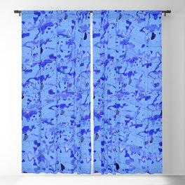 Cornflower Blues Blackout Curtain