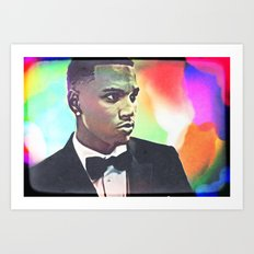 Trey Songz Art Print