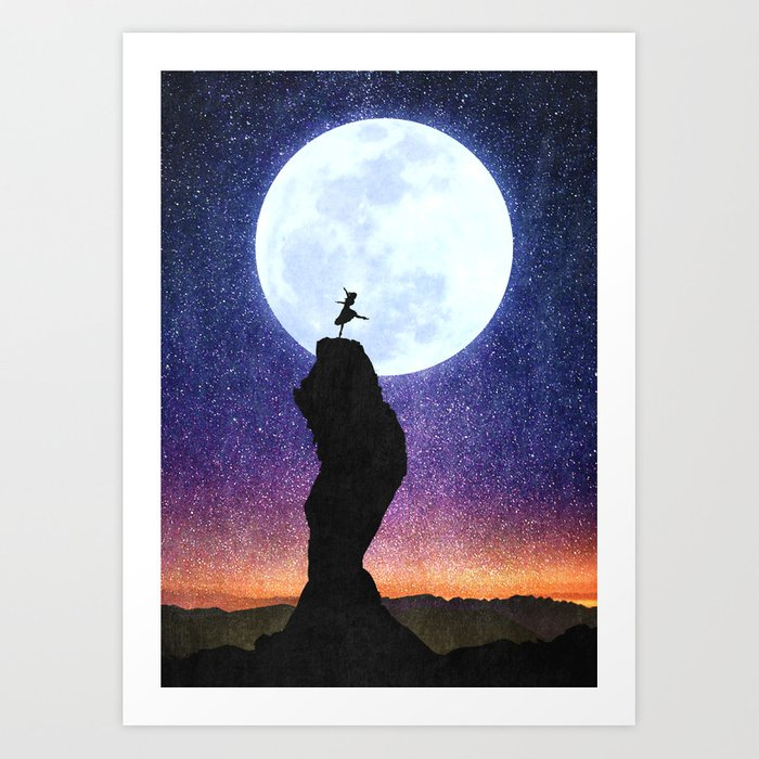 A Dance for the Moon Art Print