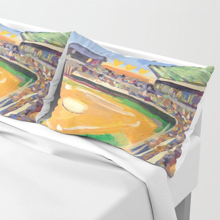 LSU Softball Pillow Sham Classy Lsu Bedroom Style Painting