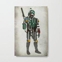 Boba Fett Metal Print