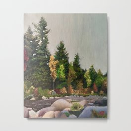 Upstate New York Gorges Metal Print