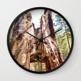 As Big As You Can Get Wall Clock