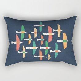 Vintage seagull Rectangular Pillow