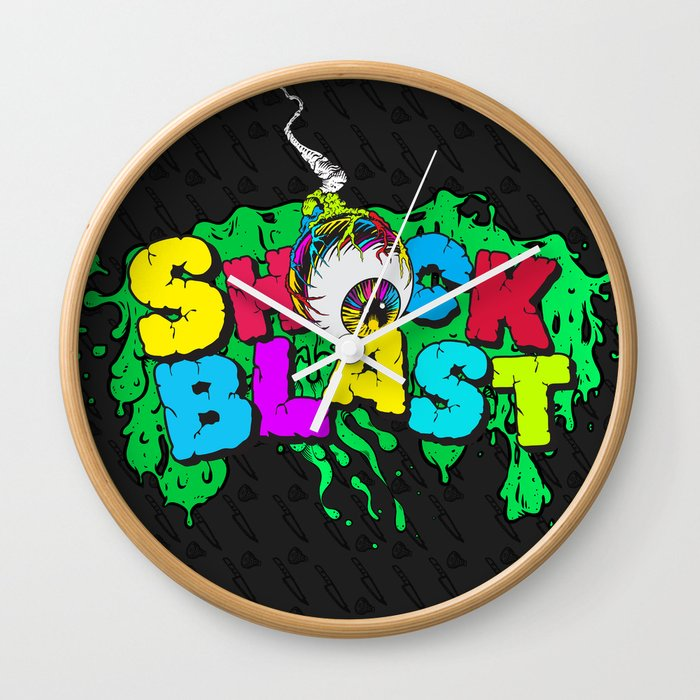 Original ShockBlast x Tumblr Classic Grime Logo Wall Clock