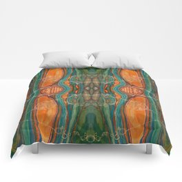 Lively Synapses (Amplified Current) (Reflection) Comforters