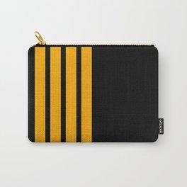 Captain Pilot Stripes Carry-All Pouch