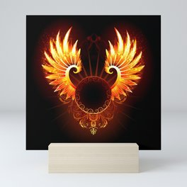 Wings Phoenix Mini Art Print