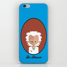 Dr Brown iPhone Skin
