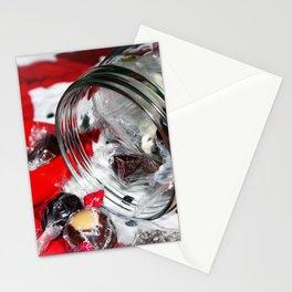 Christmas Candy Jar Stationery Cards