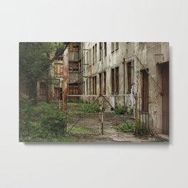 Alleys of Kaunas Metal Print