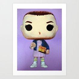 Eleven With Eggo's Art Print