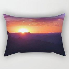 Colorful Grand Canyon Sunset Rectangular Pillow