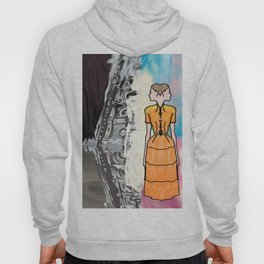 She Is Leaving The Painting Hoody