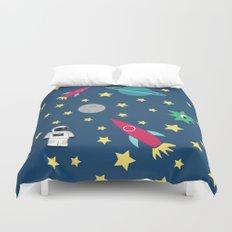 Space Objective Duvet Cover