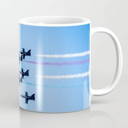 Patriots Jets in Formation Coffee Mug
